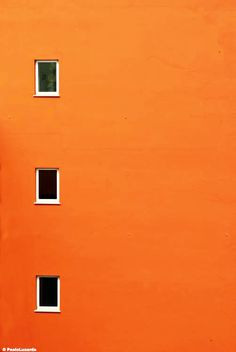 Orange | Arancio | Oranje | オレンジ | Appelsin | оранжевый | Naranja | Colour | Texture | Style | Orange Facade by Paolo Luxardo