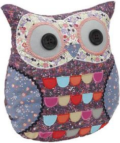 Pretty idea for an easy make it yourself cushion: Joe Browns Twit-Twoo Cushion Owl Who, Make Her Smile, Quirky Gifts, Book Gifts, Soft Furnishings, Some Fun, Gifts For Women, Cushions, Pillows