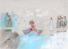 Du er ventet! www.kjerstimunkejordlamb.no Colorful Paintings, Lamb, Art Journaling, Fun, Art Diary, Kunst, Baby Lamb, Lol, Funny