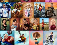 "Check out new work on my @Behance portfolio: ""Caricature Commissions-Single person"" http://be.net/gallery/61583137/Caricature-Commissions-Single-person"