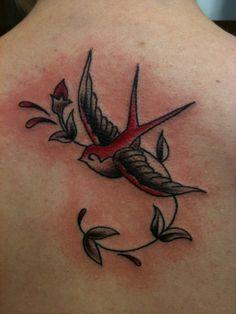 Swallow Tattoo.