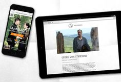 Tannbach Microsite für das ZDF #timeline #storytelling #3D