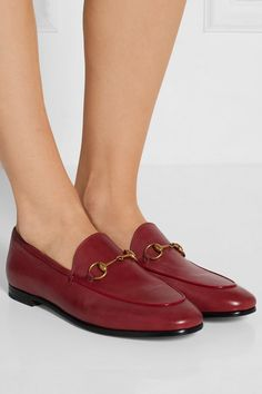 Heel measures approximately 10mm  0.5 inches Red leather Slip on Made in  Italy Rood Leder f10af8e3fb