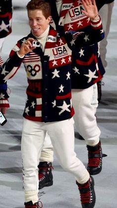 6f2b968d Shawn White, Winter Olympics 2014, White Girls, Mini Camera, Christmas  Sweaters,