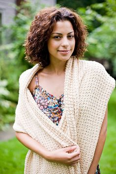 Ravelry: Shawl of Gratitude pattern by Lion Brand Yarn