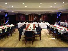 Ready for the TT dinner - Xmas 2012.