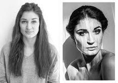 Vorher- Nachher Make up.Gepinnt von Gabi Wieczorek auf Faces - What can you see?