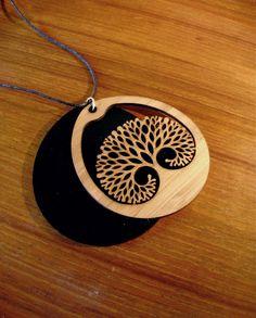 Tree of Life Necklace. $45.00, via Etsy.