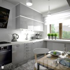 Projekt prostej praktycznej kuchni - zdjęcie od MIKOŁAJSKAstudio