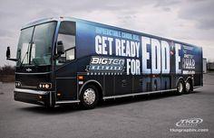 Big Ten Network Bus Wrap