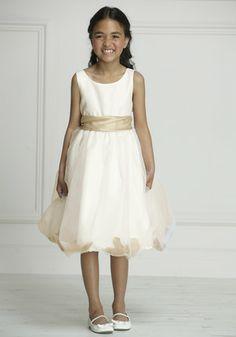 F&F Signature Petal Mesh Skirt Bridesmaid Dress