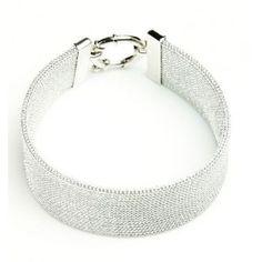 Srebrna bransoletka. Biżuteria włoska rodowana. Ekskluzywna kolekcja AnKa! Bangle Bracelets, Bangles, Cuffs, Engagement Rings, Crystals, Diamond, Jewelry, Bracelets, Bracelets