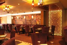 indian restaurant interior design - Hledat Googlem