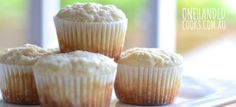 LEMON, ALMOND & RICOTTA MINI MUFFINS: Enjoy some tasty time with these yummy lemon, almond and ricotta muffins. Try using mini muffin trays to keep control of portion sizes. Savory Muffins, Cinnamon Muffins, Mini Muffins, Almond Muffins, Baby Food Recipes, Sweet Recipes, Snack Recipes, Cooking Recipes, Muffin Recipes