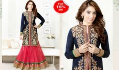 NEW ARRIVAL :-    Today we share we the most popular #Bollywood Actress Bipasha Basu Long Designer Anarkali Suits.   checkout here:- http://www.shoppers99.com/daily_offer/bipasha_basu_long_designer_anarkali_suits