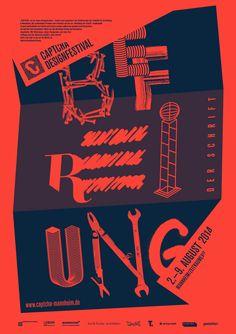 CAPTCHA Designfestival - Befreiung der Schrift www.captcha-mannheim.de mit Felix Pfäffli, Erich Brechbühl, Daniel Kuhnlein, Karima Klassen, Stefanie Schwarz und Götz Grämlich