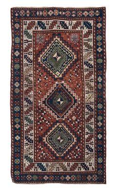 Tappeto caucasico Kasak, fine XIX inizio XX secolo from cambi casa d'este