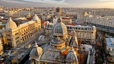 """City Break in Bucharest. Bucharest is a city of wide boulevards, architecture """"end of this century"""", things that have given the nickname of """"Little Paris"""". Cool Places To Visit, Places To Travel, Places To Go, Travel Destinations, Capital Of Romania, Europa Tour, Cheap Flights And Hotels, Travel Fund, Visit Romania"""