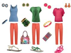 The Vivienne Files: maximize your ROI First Day Outfit, Outfit Of The Day, My Wardrobe, Capsule Wardrobe, Bright Pants, Orange Jeans, The Vivienne, Dress Me Up, Colorful Shirts