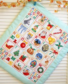 Cross Stitch Patterns - Baby's First Christmas