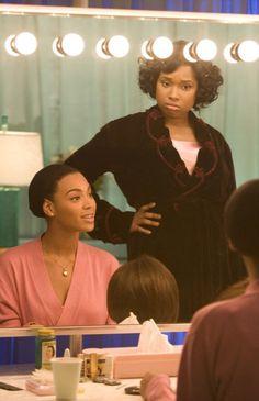 Beyoncé Knowles as Deena Jones & Jennifer Hudson as Effie White - Dreamgirls