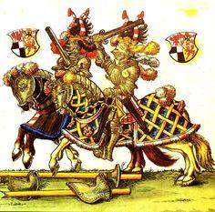 Die Helmzier, Vortrag auf der Gilde der Zürcher Heraldiker, Helmschau und Turnier