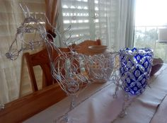 Handmade Large Silver Wire Horse - Special Price!  Check my Etsy shop link