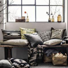 H&M Home : Découvrez les différentes ambiances déco de la marque suédoise : Ambiance séjour H&M 2013/2014 - Déco - Plurielles.fr