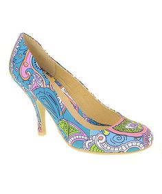 Light Blue New Love Pump by Chinese Laundry on #zulily today!-I think I need them just because they're so different!