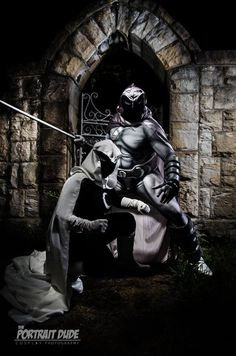 Moon Knight (Cosplaying for Charity) - Project-Nerd