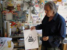 Lowlands : Ontwerper Peter te Bos: Interview uit Items