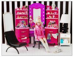 2012 Mattel Barbie Vanity: Target Exclusive | by Princess Di-O-Rama