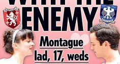 Shakespeare's plays turned into tabloid covers