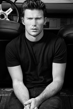 Scott Eastwood in #JBRAND via @flauntmagazine.