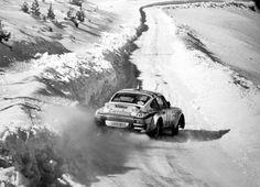 Snow drift : Porsche 911 SC - Montecarlo '81