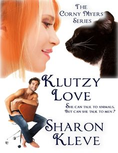 Klutzy Love by Sharon Kleve.  A novel about dating, animals, and pet detectives. Click through to read more: http://avalon-lion.blogspot.be/2013/02/klutzy-love-book-giveaway.html