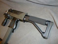 ARMSLIST - For Sale: MAC-10 Carbine Rifle with Telescoping Stock
