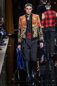 Balmain Fall/Winter 2016 - Fucking Young! - Olivier Rousteing presented his Fall/Winter 2016 collection for Balmain during Paris Fashion Week.