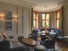 A Hilton Grand Vacations, members lounge at Craigendarroch.