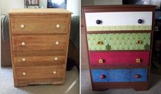 Check out this brilliant before and after highboy dresser action from…