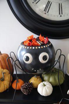 Vintage spider candy