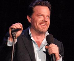 Eddie Izzard.  If you love comedy and history, Eddie is the bee's knees.  Hetero transvestite too.  He's fabulous.