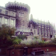 This is the former seat of British rule in Ireland.