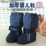 Человек Лин Бао детские пинетки мягкие нижние осенние и зимние ботинки для мужчин и женщин 0-2 лет Малыш сапоги теплые толстые
