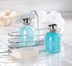 Sea Mineral Spa Set-Scent of Green Tea and Peppermint