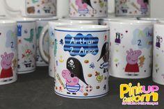 George Pirata Peppa Pig  #PinkUpCustom #Presente #personalizado #Caneca #Ceramica #Porcelana #Chinelo #Casamento #Aniversário #Batizado #Chadebebe #chabar #brinde #evento #festa