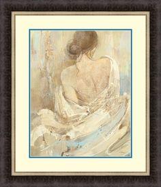 Abstract Figure Study I by Albena Hristova Framed Painting Print