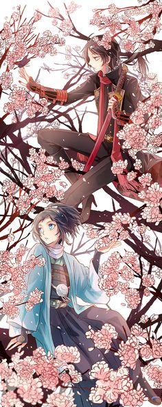 Touken Ranbu/Yamato Nokami Yasusada/Kashuu Kiyomitsu