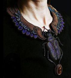 3D Nature Inspired Beadwork by Julia Turova ~ The Beading Gem's Journal