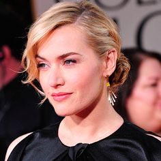 Hair Updos: The Easy-To-Copy Styles From The Red Carpet - Kate Winslet with braided chignon from InStyle.com